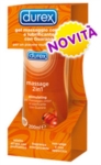 Durex Massage 2 in 1 Stimulating Gel per Massaggi 200 ml