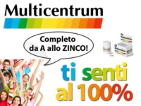 Multicentrum Linea Select 50  Integratore 50 Anni 20 Compresse Effervescenti