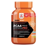 Named Linea Sport Bcaa 411 Extreme pro Integratore 110 Compresse