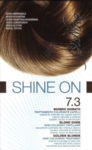 BioNike Linea Shine ON Tintura per Capelli Cute Sensibile 7.3 Biondo Dorato