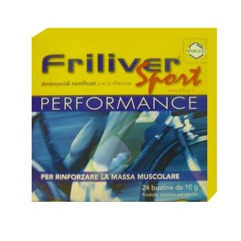 Friliver Performance integratore Buste 24 bst