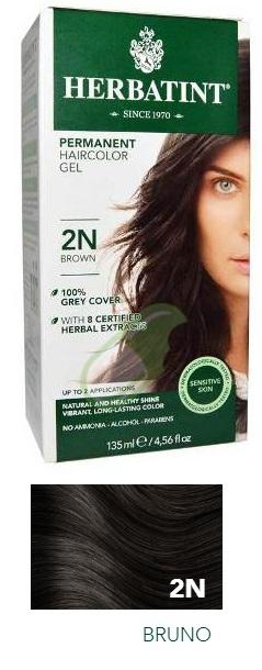 Antica Erboristeria Linea Colorazione Naturale Herbatint colore Bruno 2N 135 ml