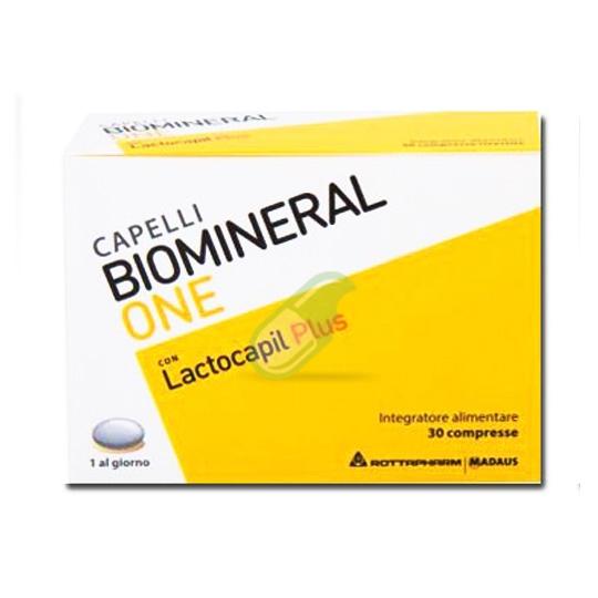 Biomineral Linea Hair Terapy One con Lactocapil Plus Integratore Capelli 30 Comp