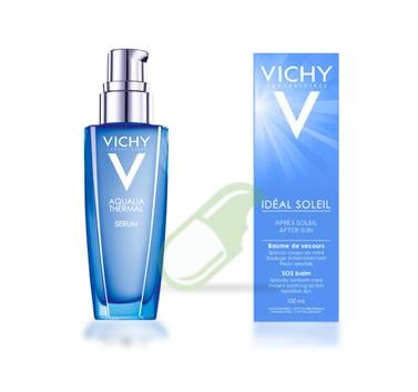 Vichy Linea Idratazione Aqualia Thermal Siero Intensivo+Doposole SOS Balsamo Rip