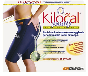 Kilocal Abbigliamento per il Benessere Panty Pantaloncino Blu Taglia M