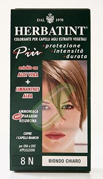 Antica Erboristeria Linea Colorazione Naturale Herbatint  Biondo Chiaro 8N 150ml