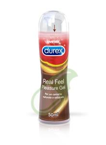 Durex Linea Lubrificanti Real Feel Pleasure Gel Lubrificante 50 ml