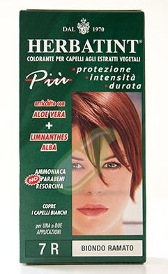 Antica Erboristeria Linea Colorazione Naturale Herbatint Biondo Ram. 7R 135 ml