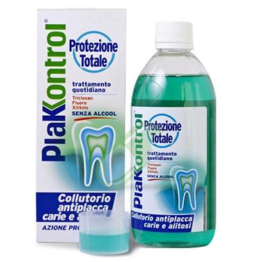 Plakkontrol Linea Igiene Dentale Quotidiana Collutorio Protezione Totale 500 ml