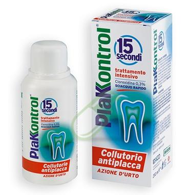 Plakkontrol Linea Igiene Dentale Quotidiana 15 Secondi Collutorio 250 ml