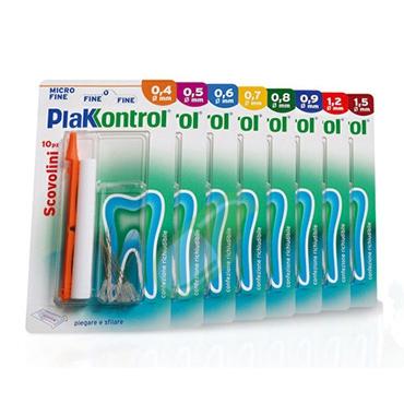 Plakkontrol Linea Igiene Interdentale Quotidiana 10 Scovolini no Manico 0,8 mm