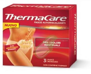 Thermacare Linea Salute e Benessere 3 Fasce Autoriscaldanti Menstrual