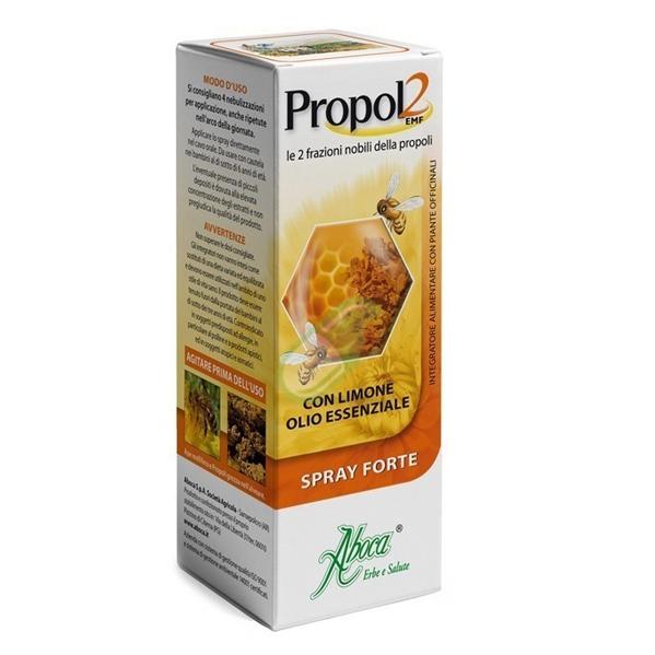 Aboca Naturaterapia Linea Benessere Gola Propol2 EMF Spray Forte 30 ml