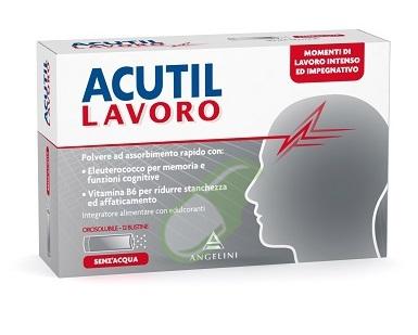 Acutil Linea Lavoro Acutil Lavoro Integratore 12 Bustine Orosolubili