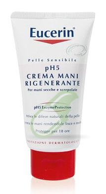 Eucerin Linea pH5 Crema Mani Idratante Delicata Pelle Sensibile 75 ml