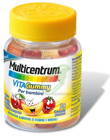 Multicentrum Linea Bimbo Multicentrum Vitagummy 30 Carammelle Gommose