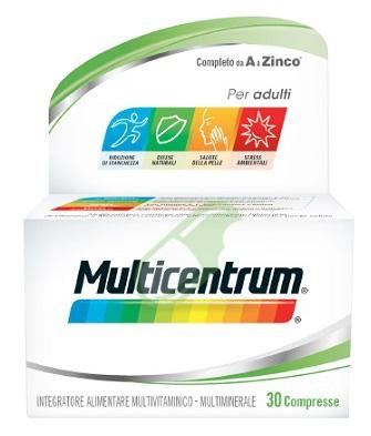 Multicentrum Linea Classic Integratore Alimentare Benessere 30 Compresse