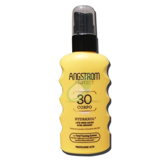 Angstrom Protect Hydraxol Latte Spray Solare 30 Corpo Flacone da 175 ml