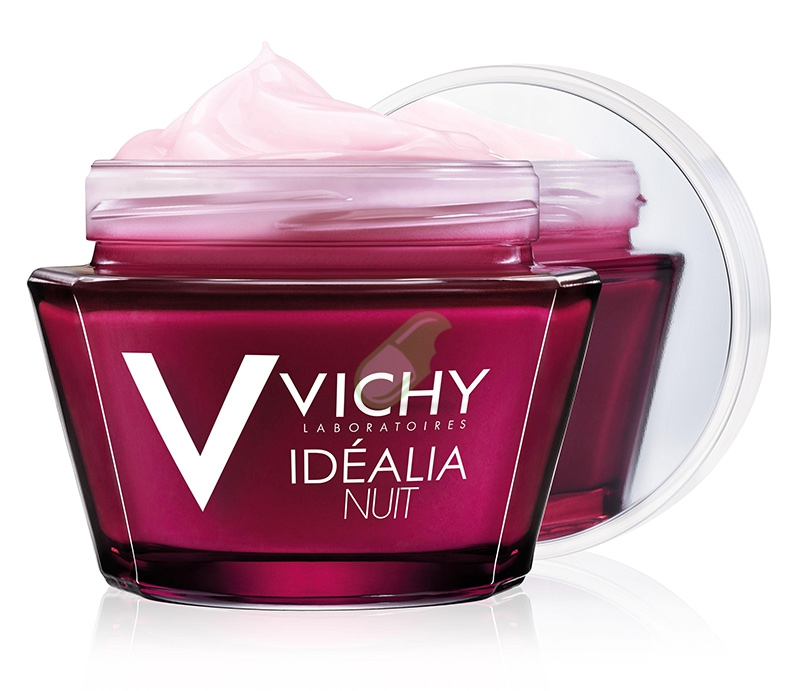 Vichy Linea Idealia Illuminante Balsamo Notte Gel Rigenerante Levigante 50 ml