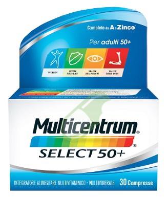 Multicentrum Linea Select 50+ Integratore Benessere 50+Anni 30 Compresse