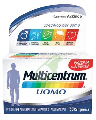 Multicentrum Linea Uomo Integratore Alimentare Specifico 30 Compresse