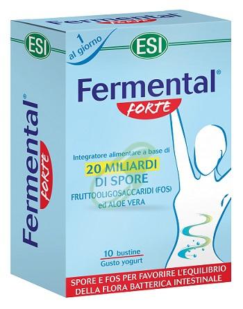 Esi Linea Benessere Intestinale Fermental Forte Azione Rapida 10 Buste