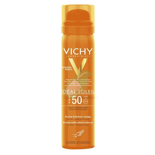 Vichy Linea Ideal Soleil SPF50 Spray Solare Viso Invisibile 75 ml