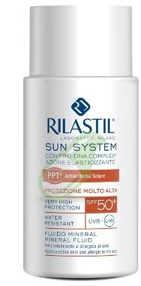 Rilastil Linea Solari Sun System  Fluido Mineral Prot Molto Alta SPF 50+