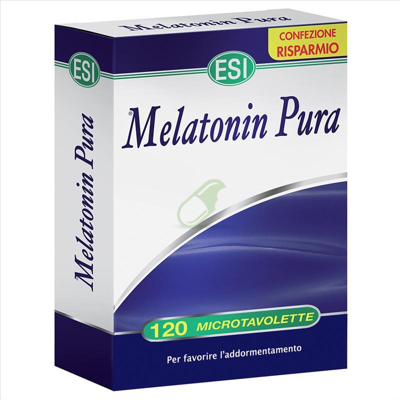 Esi Linea Sonno e Relax Melatonin Pura Integratore 120 Microtavolette
