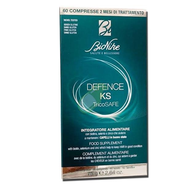 BioNike Linea Defence KS Tricosafe Integratore Anticaduta 60 Compresse