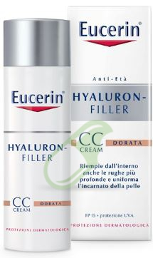 Eucerin Linea Hyaluron Filler Crema Colorata Dorata 50 ml