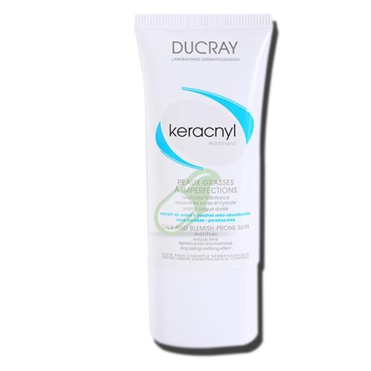 Ducray Linea Pelle Mista e Grassa Keracnyl Crema opacizzante 30 ml