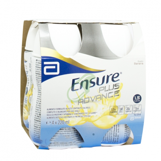 Abbott Linea Nutrizione Domiciliare Ensure Plus Advance 4x220 ml Gusto Banana
