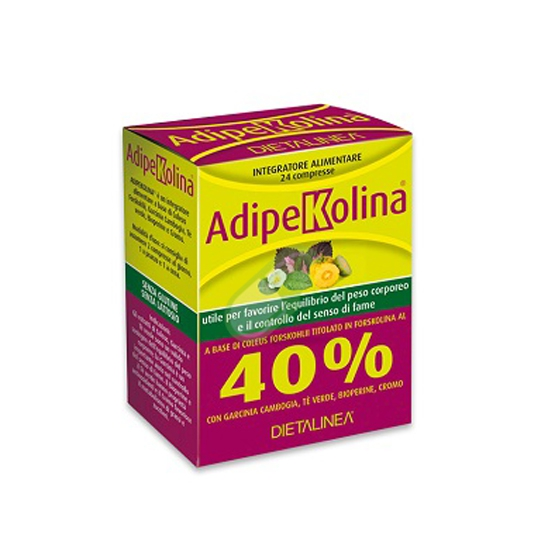 Dietalinea Linea Controllo del peso Adipekolina Integratore 24 compresse
