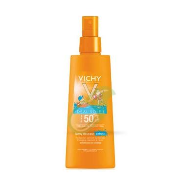 Vichy Linea Ideal Soleil SPF50+ Spray Solare Protezione Dolce Bambini 200 ml